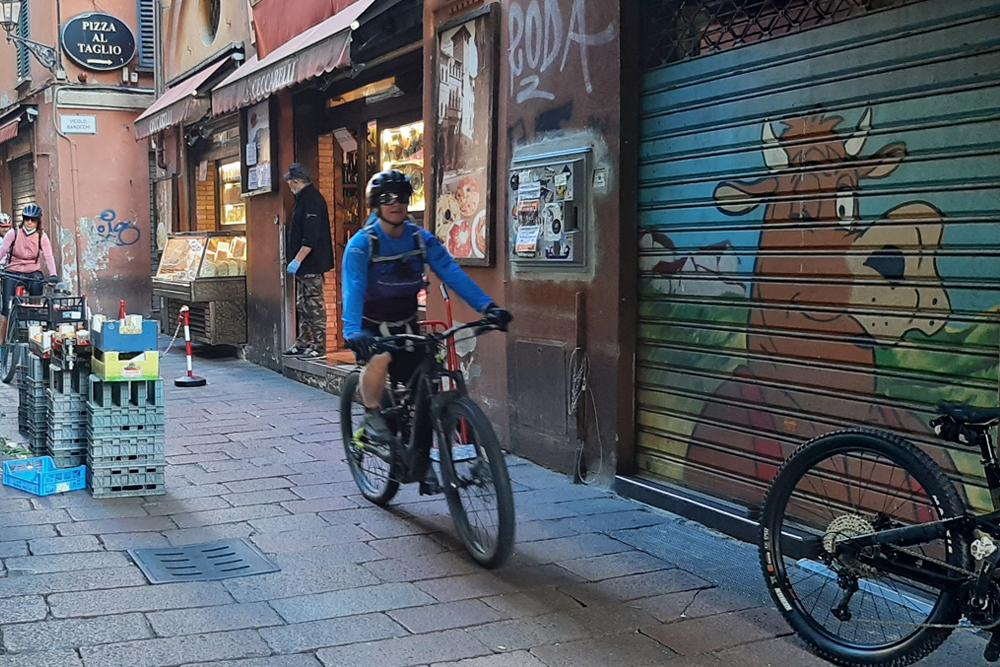 Mobe tour ebike bologna dozza bici elettrica 1