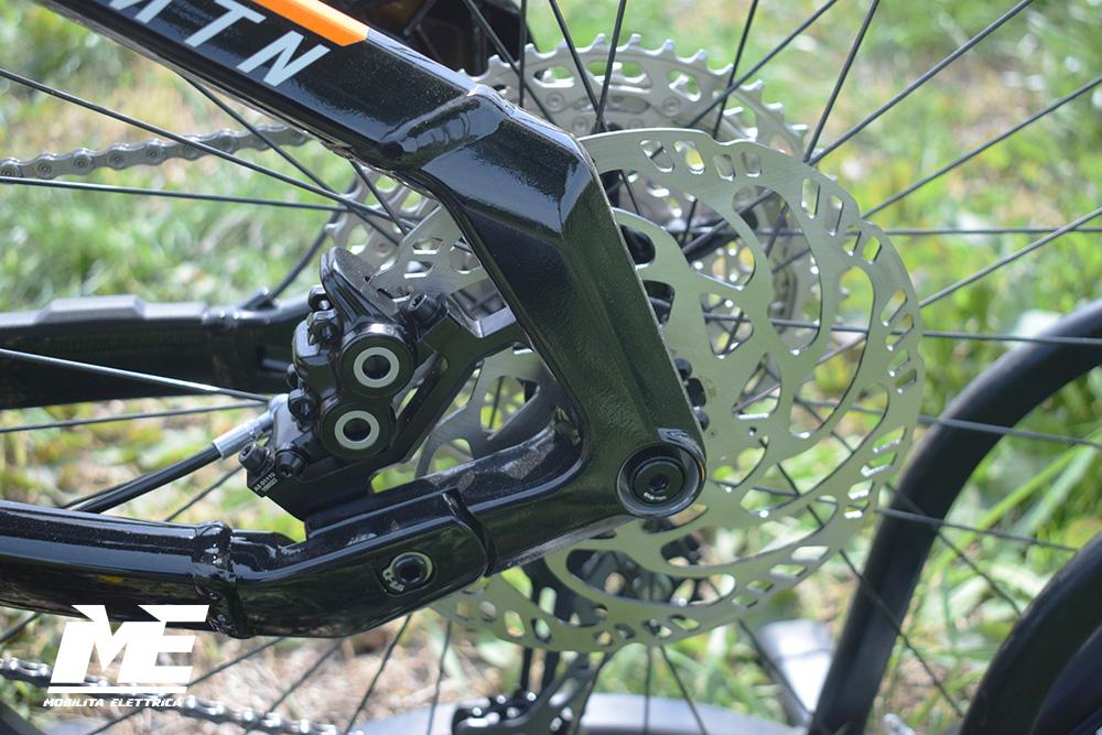 Haibike allmtn 4 tech10 ebike bosch 2021 bici elettrica mobe