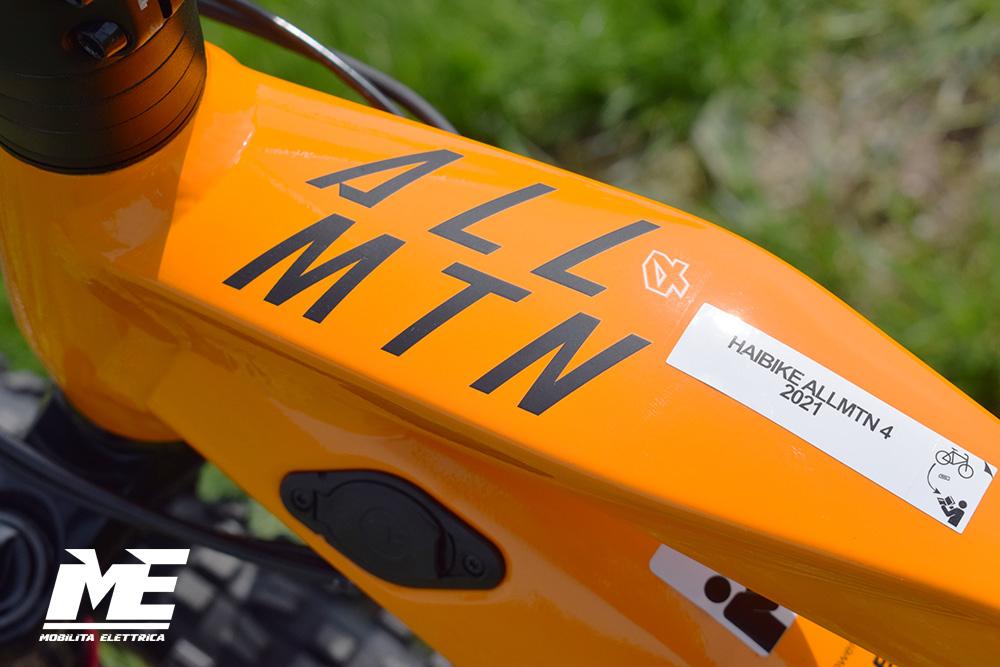 Haibike allmtn 4 tech7 ebike bosch 2021 bici elettrica mobe
