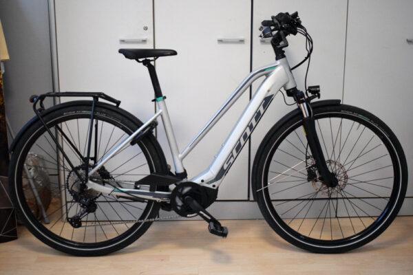 Scott Sub Sport 10 Lady bici elettrica usata ebike conto vendita occasione mobe
