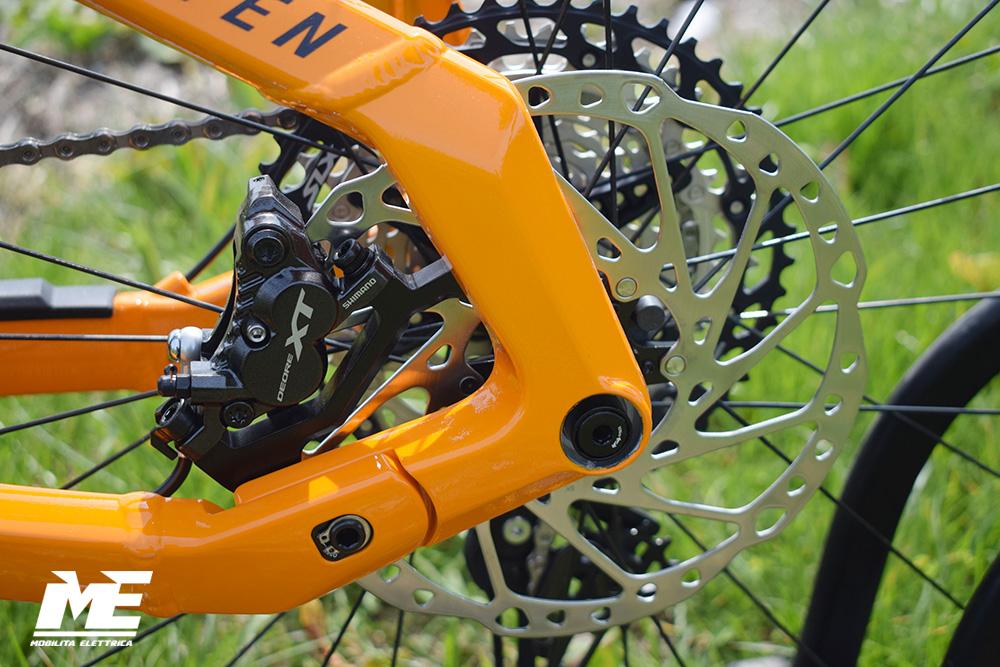Haibike fullseven 10 tech8 ebike bosch 2021 bici elettrica mobe