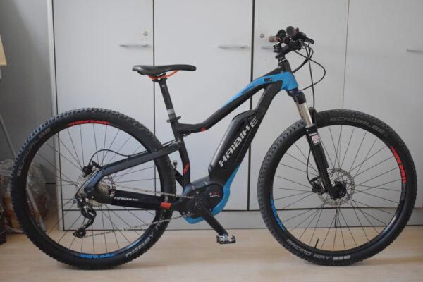 haibike xduro hardnine rc ebike usata bici elettrica occasione conto vendita