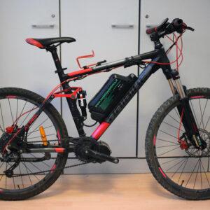 Haibike attack fs ebike bafang usata bici elettrica occasione