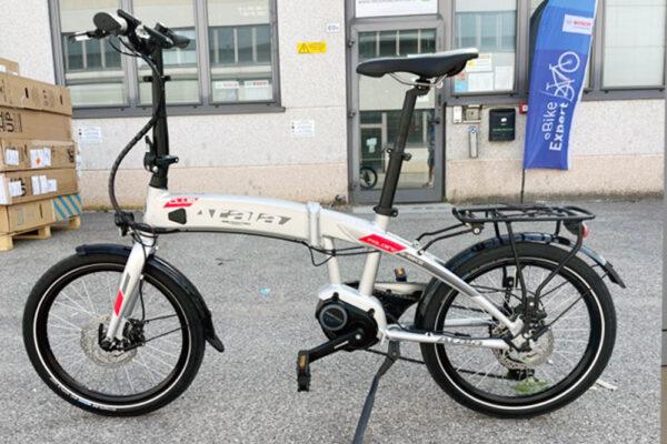 Atala club 20 bici pieghevole elettrica usata ebike conto vendita occasione mobe
