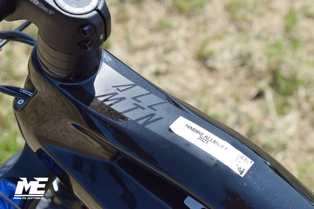 Haibike allmtn 7 tech12 ebike yamaha 2021 bici elettrica mobe