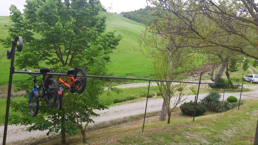 La calvanella 15 maggio 2021 test ebike mobilita elettrica 8