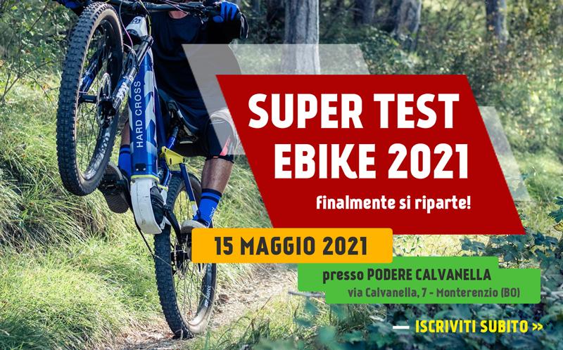 Super test Ebike modelli novita 2021 15 maggio mobilita elettrica sito