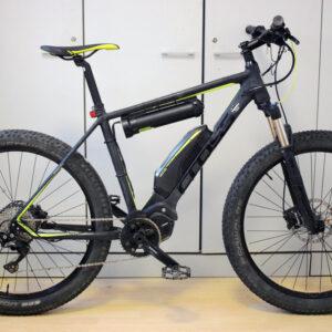 Cross element 27-5 plus ebike shimano doppia batteria usata bici elettrica occasione