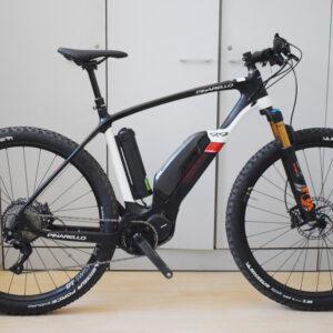 Pinarello Carbon-T700 Andromeda Hybrid 9-9 ebike doppia batteria usata bici elettrica occasione