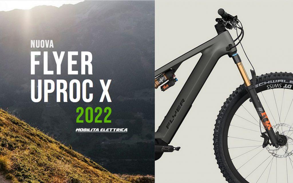 Flyer Uproc X 2022 panasonic ebike bici elettrica mobe novita mobe