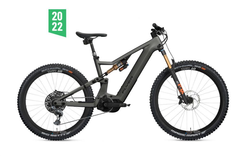 Flyer Uproc X 9-50 2022 grigio panasonic gx ebike bici elettrica mobe