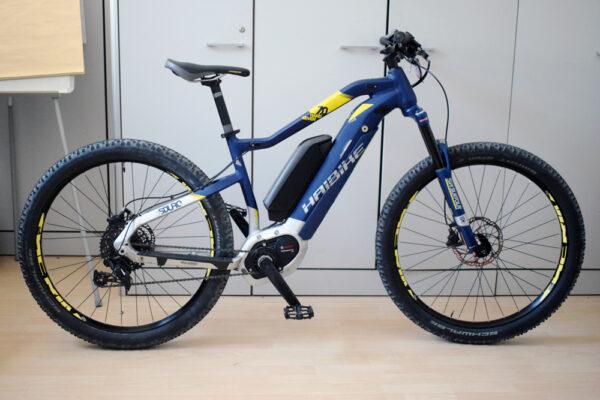 Haibike sduro hardseven 7 doppia batteria 1 bici elettrica usata ebike conto vendita occasione mobe