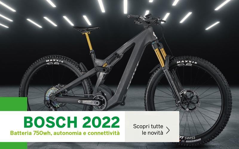 Bosch 2022 novita batteria 750 wh autonomia connettivita mobe patron