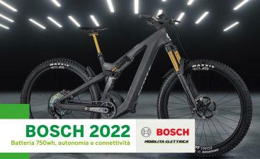 Bosch 2022 novita batteria 750 wh autonomia connettivita mobe2