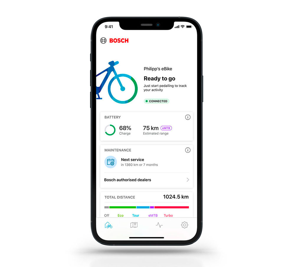Bosch Smart System nuova app 2022 mobe ebike