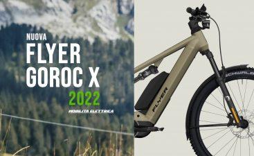 Flyer Goroc X 2022 panasonic ebike bici elettrica mobe novita mobe