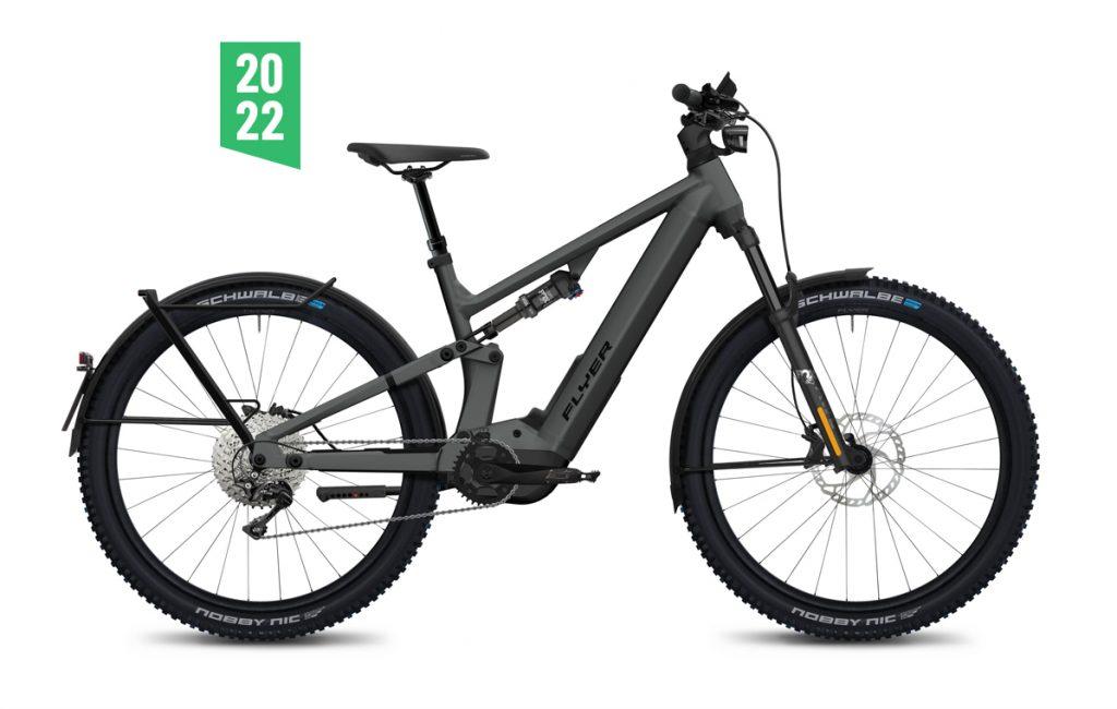 Flyer Goroc X 6-70 HS 2022 grigio panasonic gx ebike bici elettrica mobe