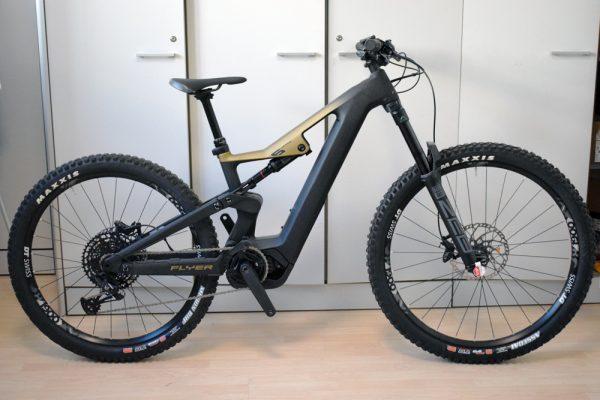 Flyer Uproc6 6-50 ebike full usata bici elettrica occasione